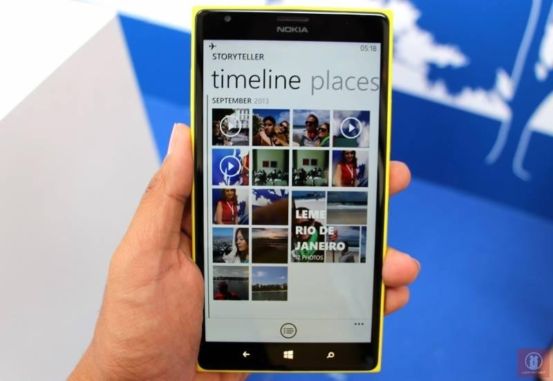 Nokia Lumia 1520 at a glance