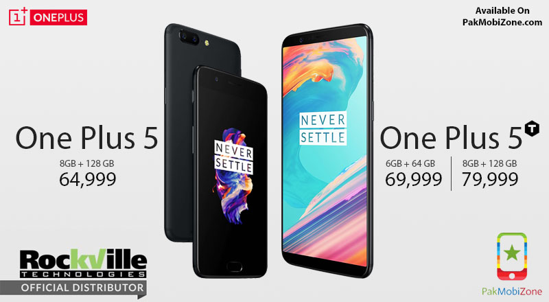 OnePlus 5 & OnePlus 5T