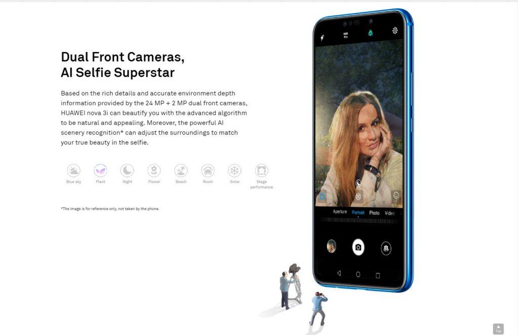 Huawei nova 3i (128GB + 4GB)