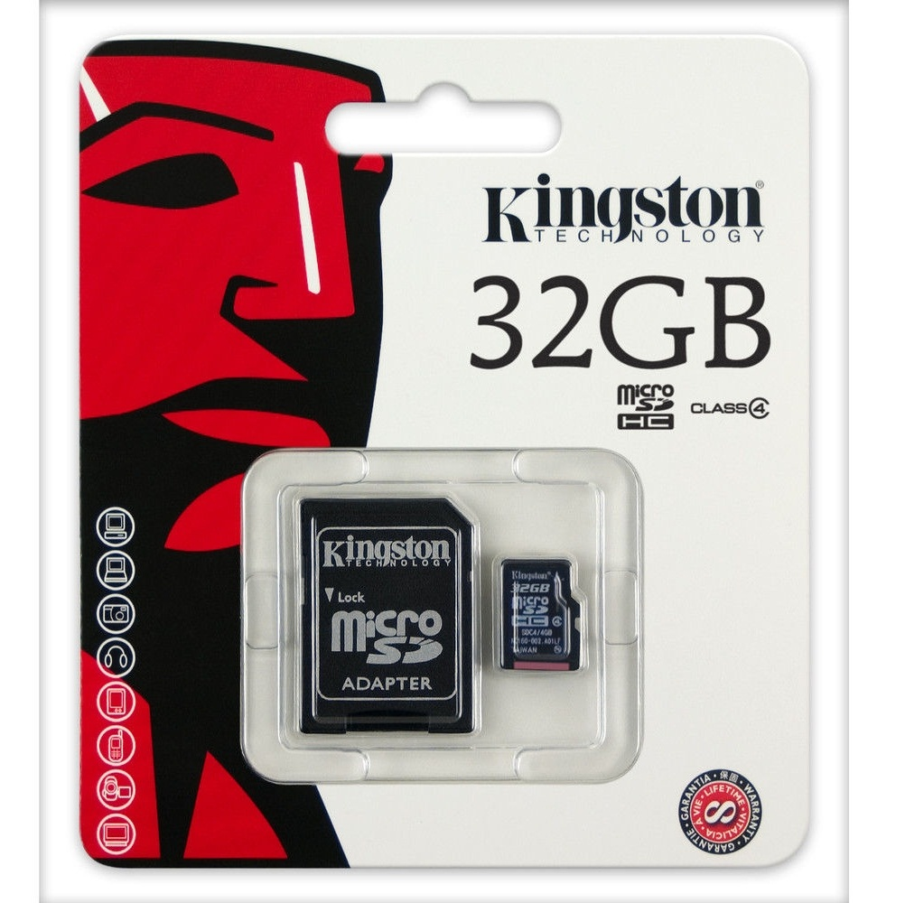 Kingston Memory Card (32GB) Class 4