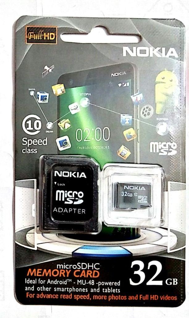 Nokia Memory Card (32GB) Class 10