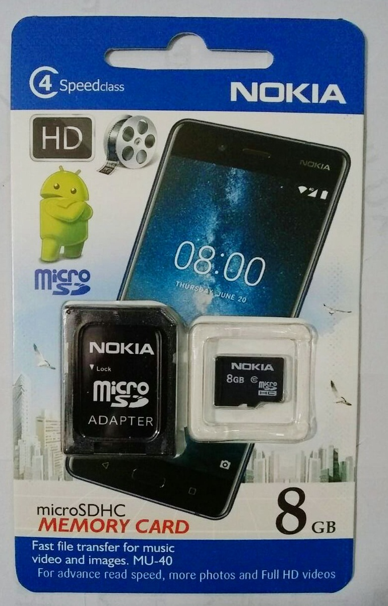 Nokia Memory Card (8GB) Class 4