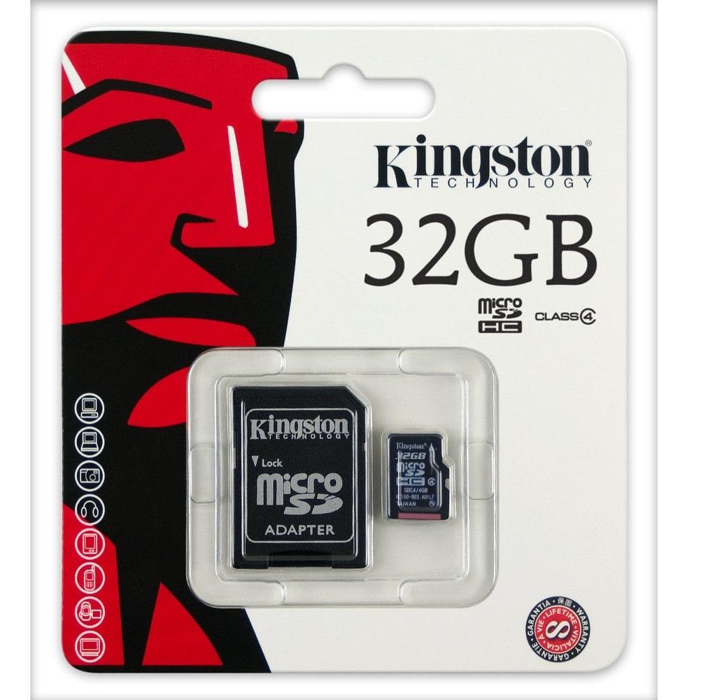 Kingston Memory Card (32GB) Class 4