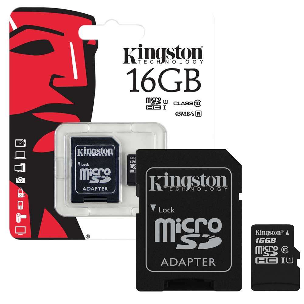 Kingston Memory Card 16GB Class 10