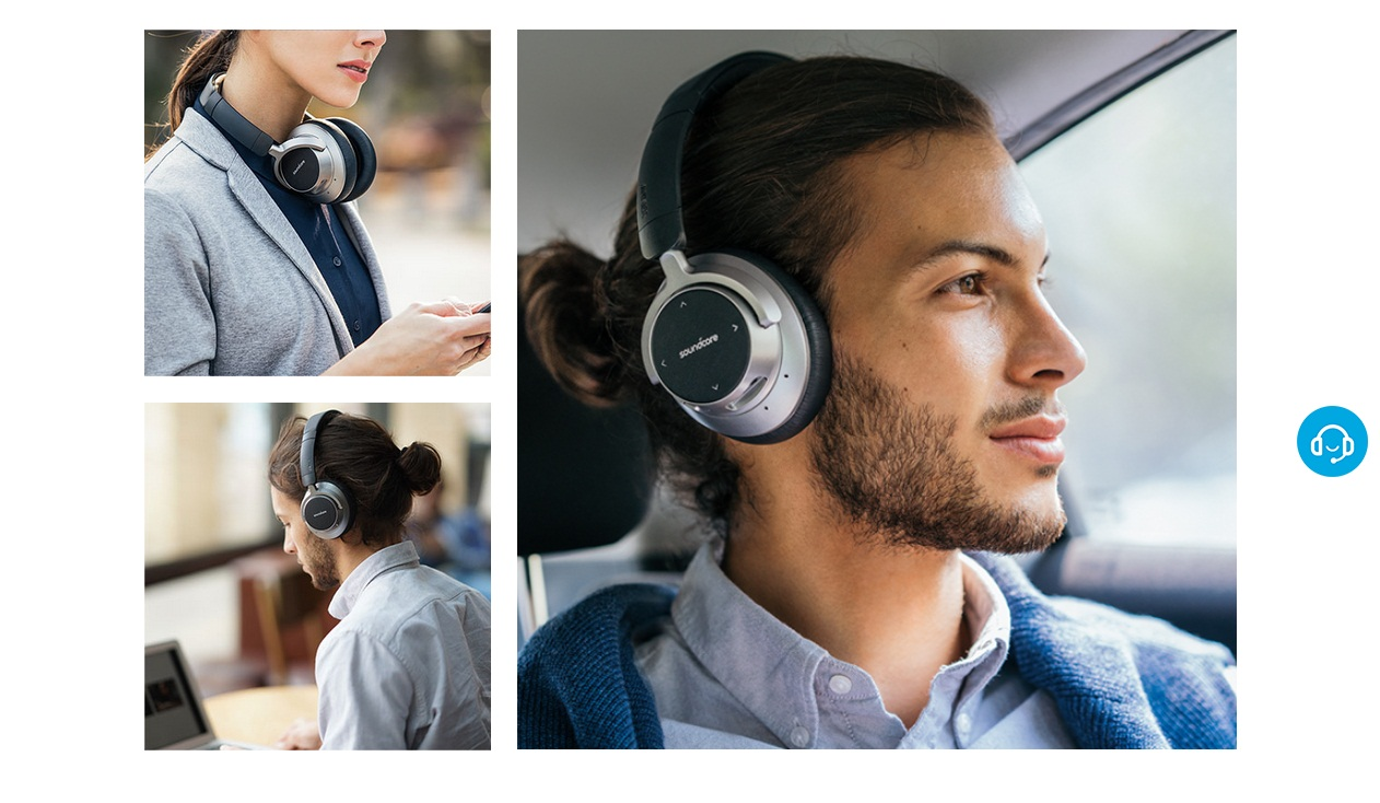 Anker Space NC  Pure Music, Effortless Control