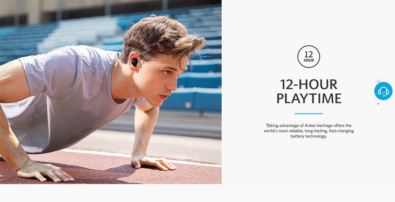 Anker Liberty Lite Pure Sound Our smallest and lightest truly-wireless earphones.