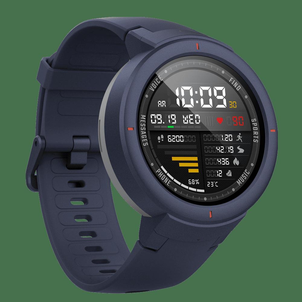 Huami New AMAZFIT Verge Silicone+PC AMOLED Smart Watch