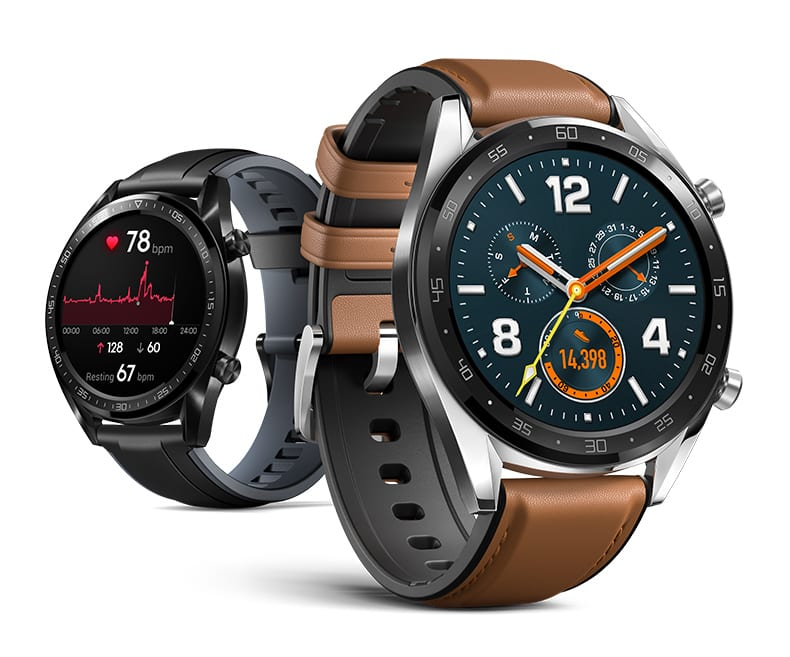 Huawei Watch GT AMOLED touchscreen 2-week battery life  Heartrate monitoring