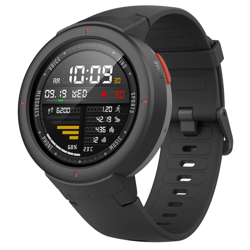 Huami New AMAZFIT Verge Silicone+PC AMOLED Smart Watch