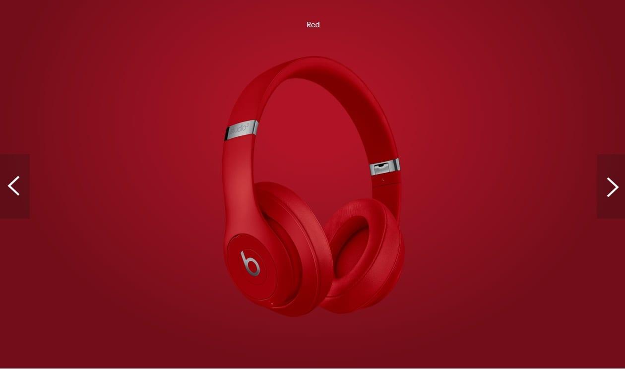 Beats Studio3 Wireless Headphones (RED)