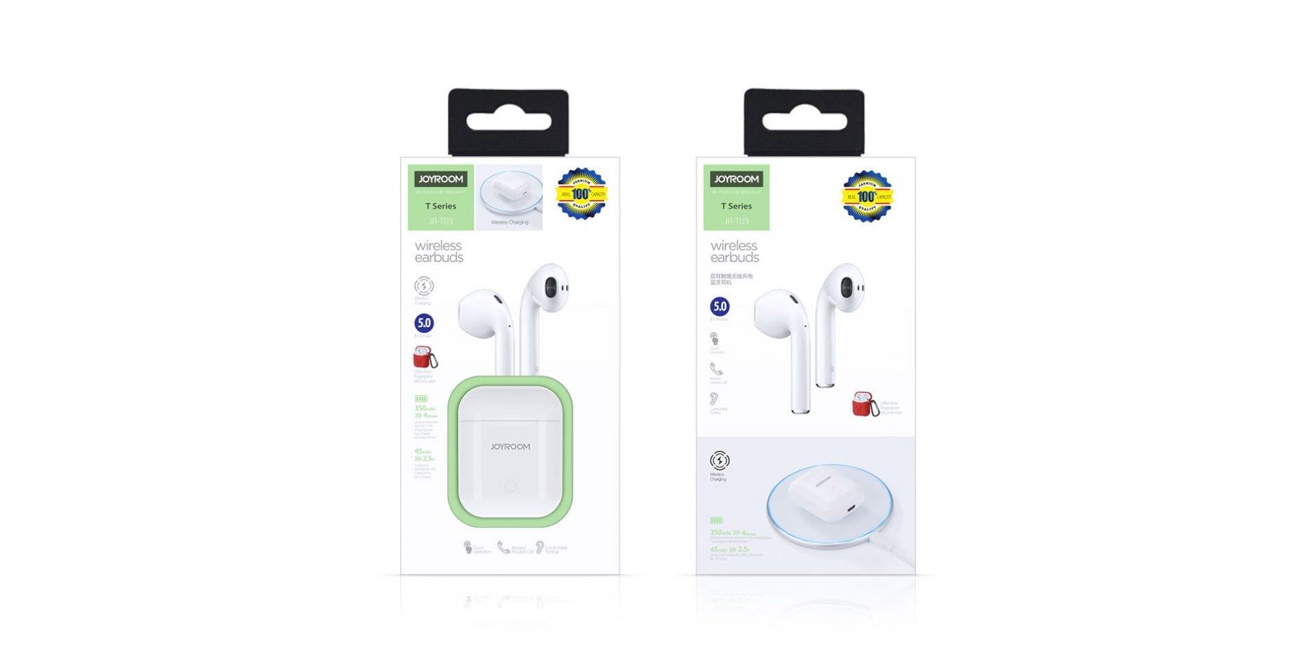 Joyroom-T03 TWS Wireless Bluetooth Earphone