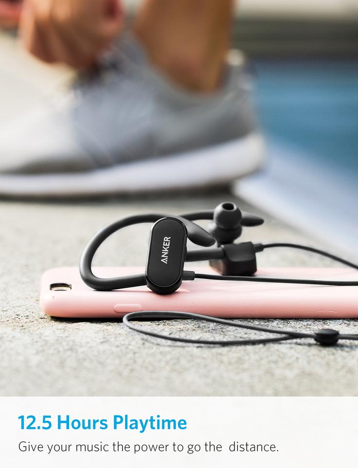 Anker SoundBuds Curve Bluetooth Headphone