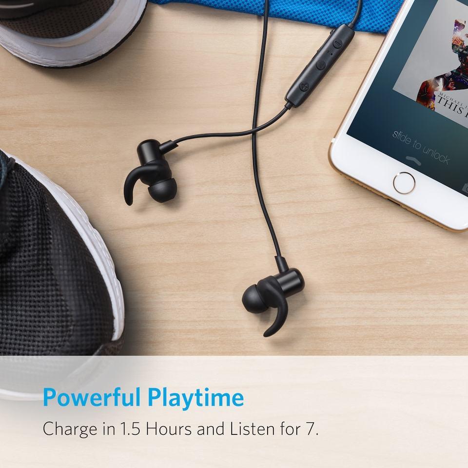 Anker SoundBuds Slim Wireless Workout Headphones