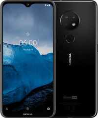 Nokia 6.2 (Ceramic Black 128GB + 4GB)