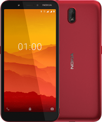 Nokia  C1 (Red 16GB + 1GB)