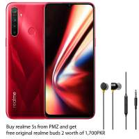 Realme 5s (128GB +4GB) Buy realme 5s  and get free original realme buds 2 worth of 1,700PKR