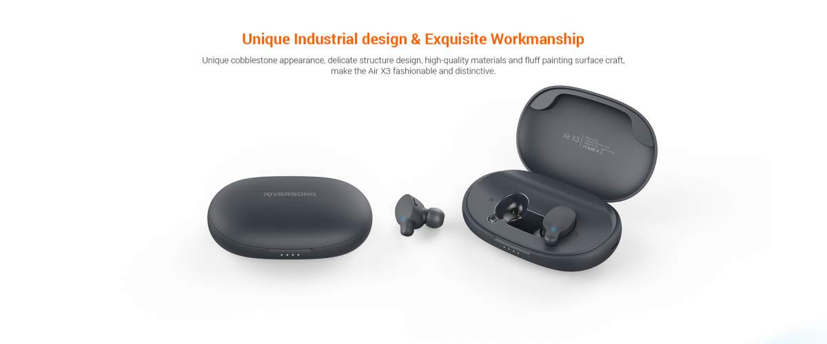 Riversong Air X3 True Wireless Stereo Earbuds