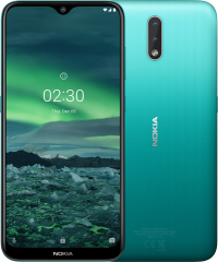 Nokia 2.3  Display 6.2  (Cyan Green 32GB +2GB)