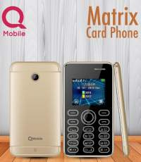 Q Mobile Matrix Card Phone