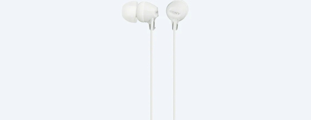 Sony Earphones (MDR-EX15LP) Without Mic