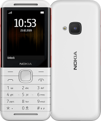 Nokia 5310  (2020 ) White/Red,