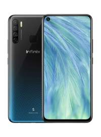 Infinix S5 Pro (Midnight black 128GB + 6GB)