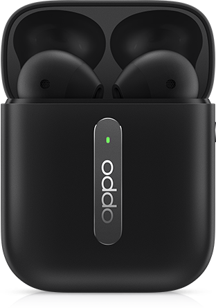 OPPO Enco Free true wireless headphones  (Black )