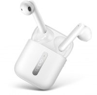 OPPO Enco Free true wireless headphones  (White )
