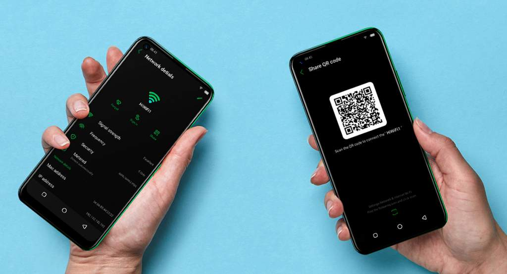 Wifi share gives you the simple option to share your WiFi through a QR code. When friends come over they can simply scan the QR code and instantly connect-hassle free .