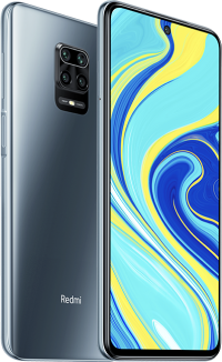 Xiaomi Redmi Note 9S ( Interstellar Grey 64GB + 4GB)