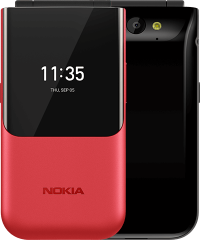 Nokia 2720 Flip 4G (Back Red 512MB + 4GB)