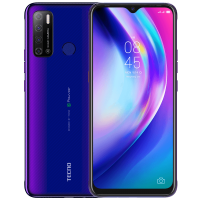 Tecno Pouvoir 4 Pro (Fascinating Purple  128GB + 6GB)