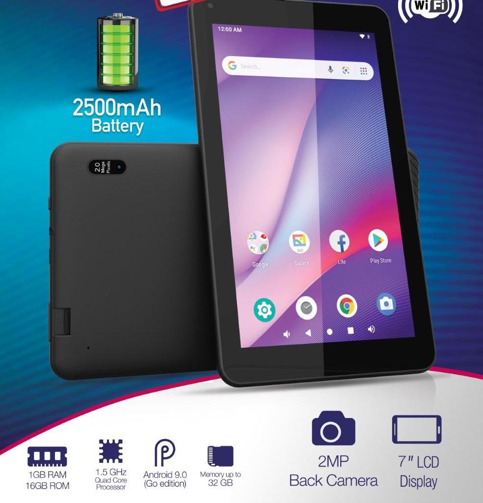 Q Tab V5 (Black 16GB + 1GB)