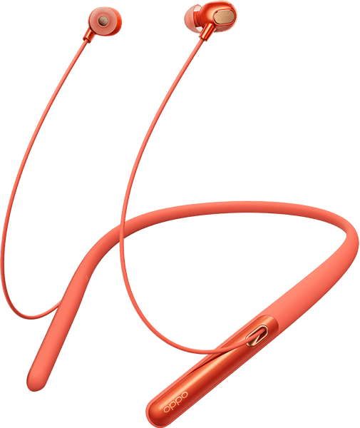 OPPO Enco Q1 Wireless Noise Cancelling Headphones  Sunny Orange