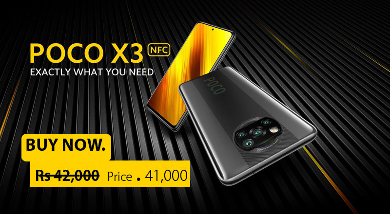 Xiaomi poco X3 NFC discount price 3