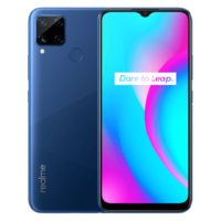 Realme C15 Qualcomm Edition (Power Blue 64GB + 3GB)