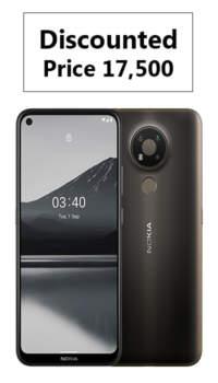 Nokia 3.4 (Charcoal 64GB + 4GB)