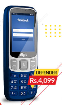 JAZZ DIGIT 4G Defender (4GB + 512MB)