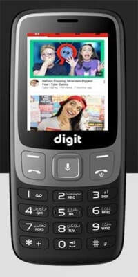 JAZZ DIGIT 4G Defender Without Camera (4GB + 512MB)