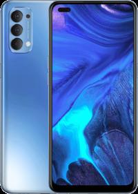 Oppo Reno 4 (Galactic Blue 128GB + 8GB)