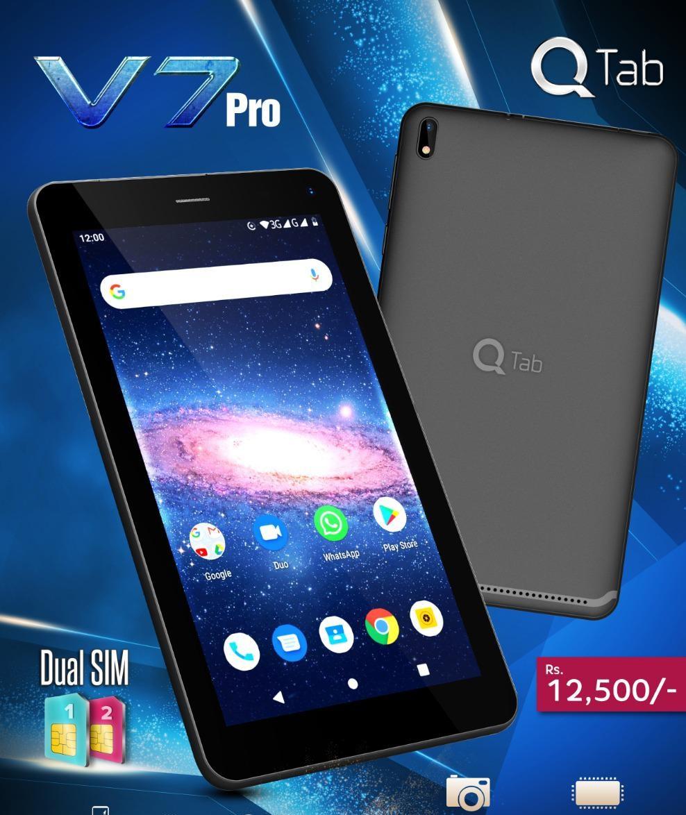 Q Tab V7 PRO 3G (BLack 16GB + 2GB)