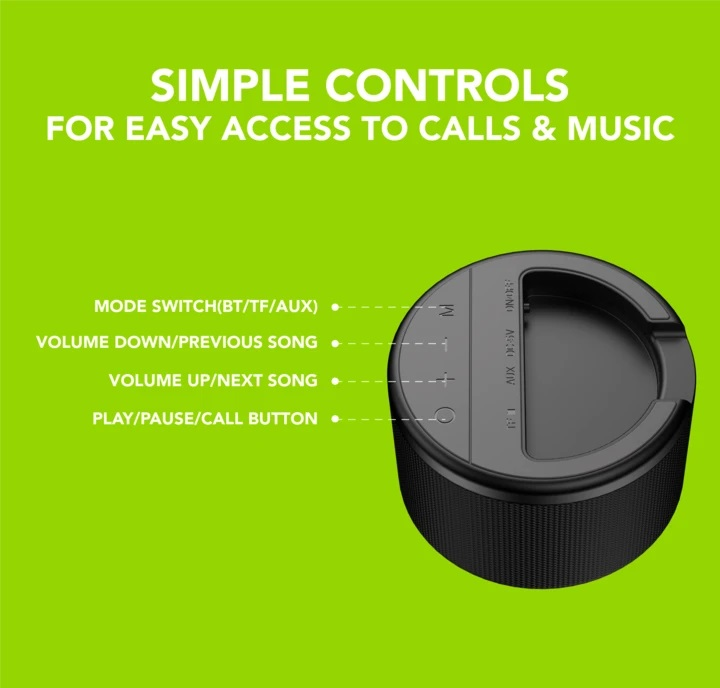 Oraimo SoundGo (33S) Portable Speaker