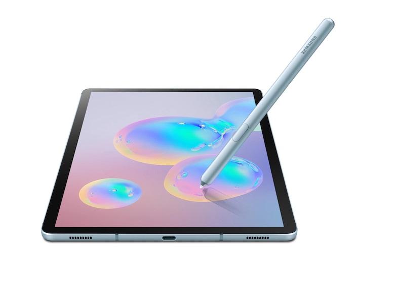 Samsung Galaxy Tab S6 S Pen included(Wi-Fi Model T860) (Cloud Blue128GB + 6GB)