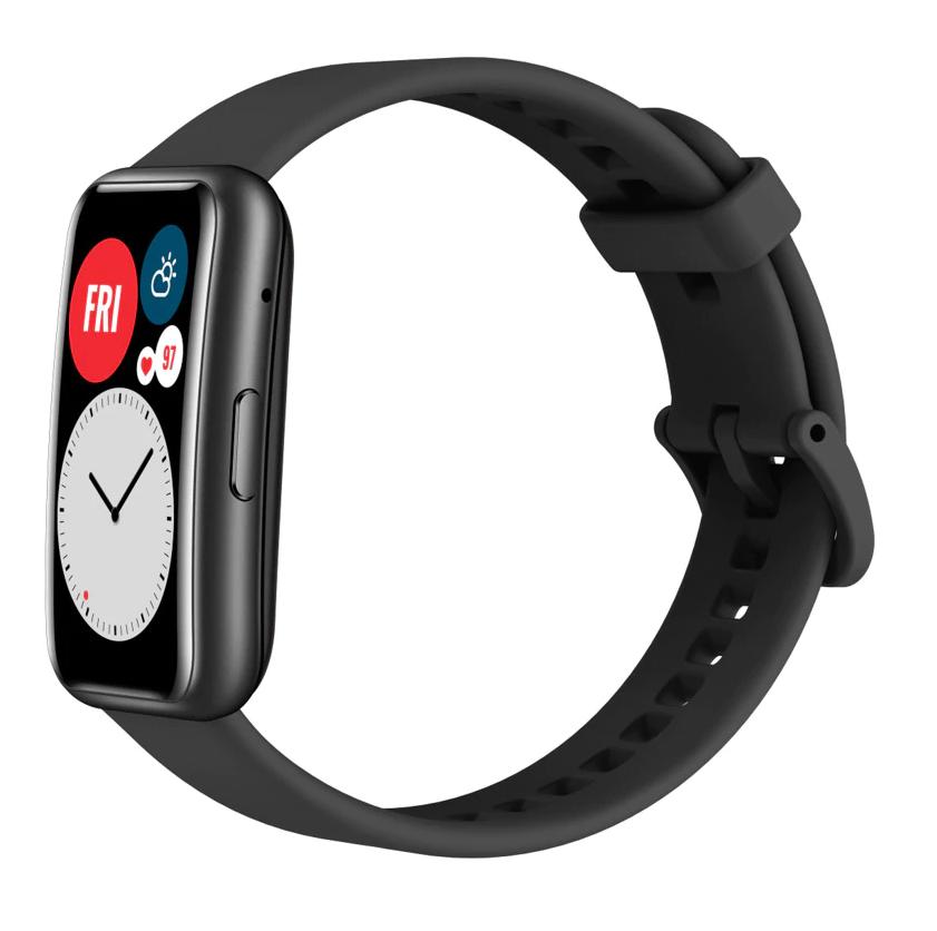 Huawei Watch Fit Amoled display GPS Smart watch (Graphite Black)