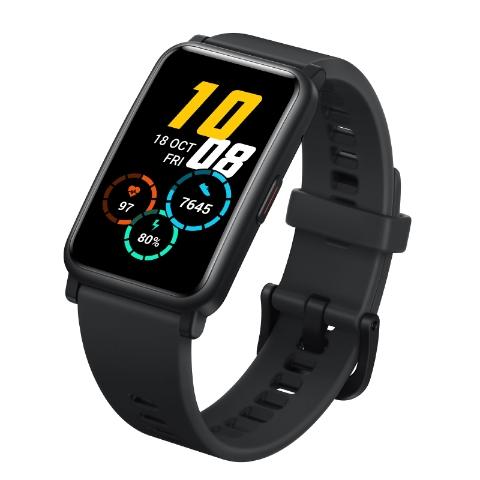 Honor Watch ES AMOLED display GPS Smart watch (Meteorite Black)