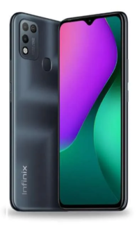 Infinix Hot 10 Play (Obsidian Black 64GB + 4GB)