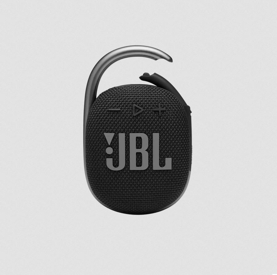 JBL Clip 4 Ultra-portable Waterproof Bluetooth Speaker Midnight Black