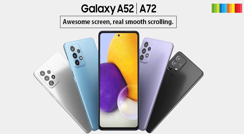 Samsung Galaxy A72 A52 1