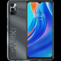 Tecno Spark 7 (Magnet Black 64GB + 4GB)