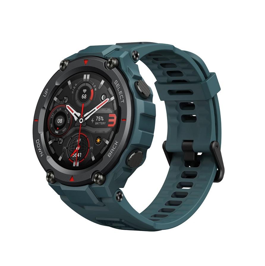 Amazfit T-Rex Pro Smartwatch (Steel Blue)
